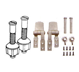 Groovy Toilet Seat Hinge Nuts And Bolts Triple S Specialties Corp Gamerscity Chair Design For Home Gamerscityorg